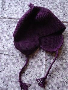 bonnets péruviens fillette