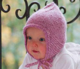 bonnet pointu jersey pour bébé