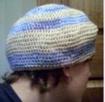 bonnet rasta à rayures