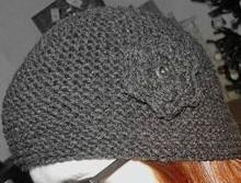tricoter un bonnet rond en mousse