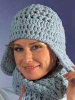 bonnets péruviens ; au crochet à trous