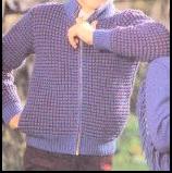 blouson au jersey