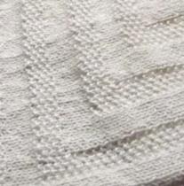 tricoter un châle chaud
