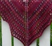 tricoter un châle en mohair