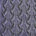 tricoter un châle en dentelles
