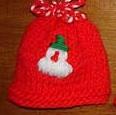 Tricoter des décos de Noël : des bonnets