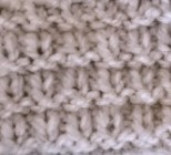 tricoter un point godron
