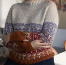 pull femme motifs danois