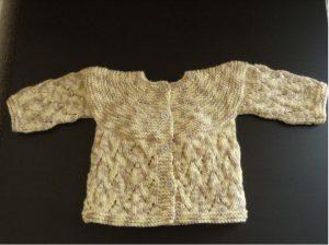 Tricoter brassières naissance fantaisie