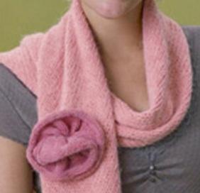 tricoter une écharpe douce et facile