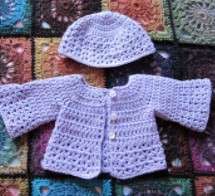 ensemble layette au crochet