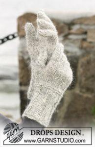 gants aiguilles irlandais
