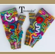 mitaine art du tricot