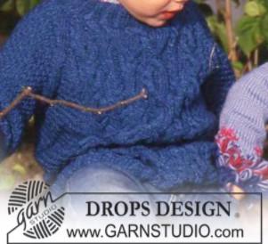 tricoter pulls enfant avec torsades