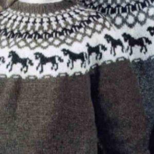 Modèles gratuits de pulls homme au tricot : motifs islandais