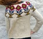 Art du tricot , pull lopi