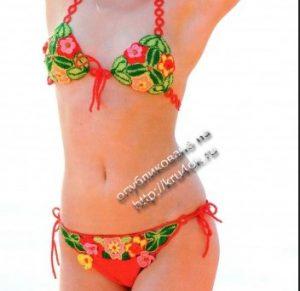 bikini fleurs
