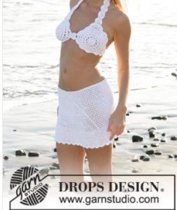 le bikini et sa jupe