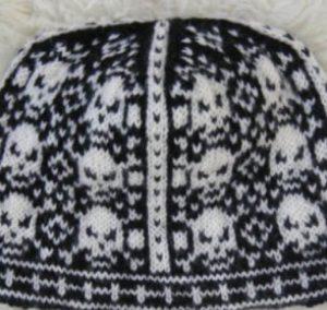 bonnet jacquard norvégien