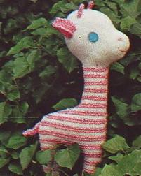 Tricoter une girafe