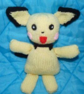 tricoter un doudou au jersey