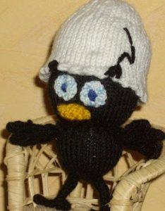 Tricoter un doudou : canard
